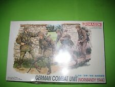 GERMAN COMBAT UNIT NORMANDY 1944 FIGURES BY DRAGON 1/35 - REF.6003