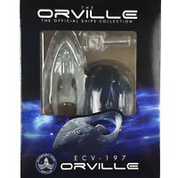 The Orville Ship Collection USS ORVILLE ECV-197 Model Ship Eaglemoss Issue 1