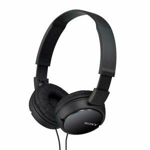 Sony MDRZX110/BLK Stereo Headphones-Black