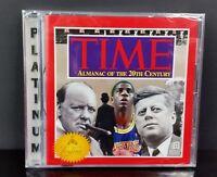 Time Magazine  Almanac of the 20th Century Windows CD Rom PC, 1994 Softkey