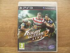 Rugby League Live 2 for Sony PlayStation 3, 2013 PS3 Game Complete- Super League