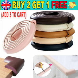 2M Kids Safety Foam Rubber Bumper Strip Safety Table Edge Corner Protector