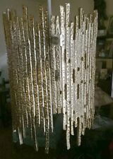 MINT New Never Used, 1960 Ultra Modern Gold Chandelier