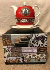Halcyon Days - Tea For One Set - Vintage Christmas