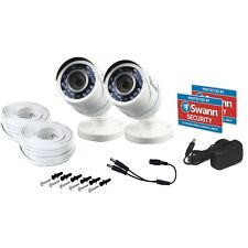Swann PRO-T852 1080P HD CCTV Security Camera TWIN PACK - DVR 4550 1590 8075 5000