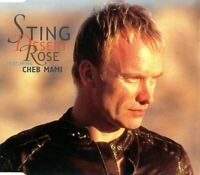 STING FEATURING CHEB MAMI desert rose (CD, maxi-single, enhanced) pop rock, 1999