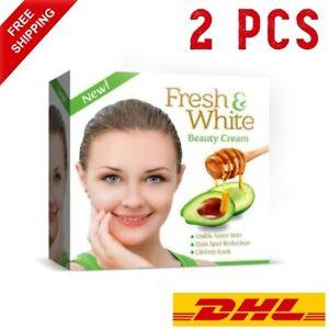 2pcs Fresh And White Beauty Cream Original (Whitening Night Cream) FREE Shipping
