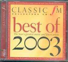 BEST OF 2003 - CLASSIC FM CD / PERAHIA, SUSAN GRAHAM, KOVACEVICH BOSTRIDGE ETC