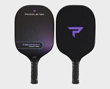 Paddletek Tempest Wave Pro Graphite Pickleball Paddle Purple Aurora 4 3/8