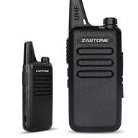 Zastone ZT-X6 Mini Ham Walkie Talkie UHF 400-470MHz 16 Channel Two Way Ham Radio