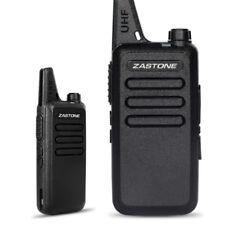 Zastone ZT-X6 UHF 400-470MHz 16 channel Walkie Talkie Mini Two-Way Ham FM Radio