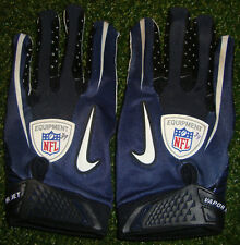 Authentic DALLAS COWBOYS PHILLIP TANNER NFL Equipment NIKE GAME USED Gloves COA