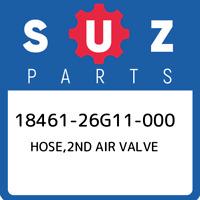 18461-26G11-000 Suzuki Hose,2nd air valve 1846126G11000, New Genuine OEM Part