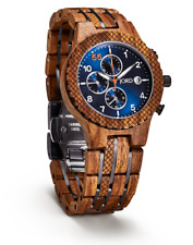 JORD WOOD WATCH CONWAY SERIES - KOSSO & MIDNIGHT BLUE