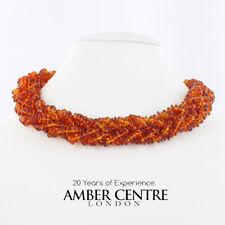 German Natural Baltic Amber UK Handmade Choker / Necklace- A0029 RRP£245!!!