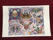 TATTOO FLASH ART  11 X 17 INCHES Heavy Paper Stock