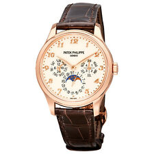 Patek Philippe Grand Complication Ivory Lacquered Dial Automatic Mens 18 Carat
