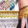 1Yd Beaded Sequin Tassel Fringe Trim Lace Ribbon For Latin Dance Costume Decor