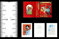 1:12 Scale Miniature Book Tik Tok And The Nome King Illustrated Oz Baum