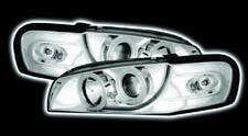 Chrome LED Halo Ring Projector Headlights For Subaru Impreza 97-00 Rhd Right