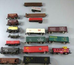 N scale 15 Freight Cars Atlas/ConCor/MRC/Bachmann