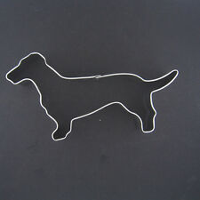 "DACHSHUND 5"" METAL COOKIE CUTTER DOG PET TREATSANIMAL FONDANT WEINER PARTY FAVOR"