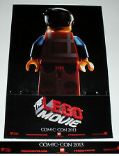 2013 SDCC Lego the Lego Movie Promo Poster Comic-Con 2013 Village Roadshow