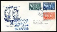 PHILIPPINES TO USA FDC, 1947, VF