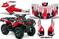 Can Am AMR Racing Graphics Sticker Kits ATV CanAm Outlander SST Decals 2012 CX R