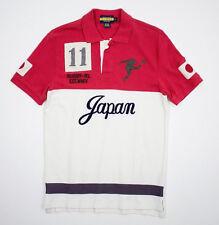 Ralph Lauren Rugby Vintage Japan Big Kicker Polo Shirt XS New