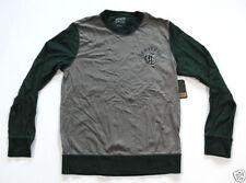 Unifarbene Kult Langarm Herren-T-Shirts