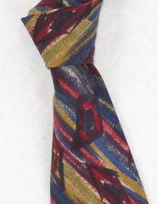 """VTG Missoni """"Cravatte"""" Lightweight 3.5"""" Wide Silk Tie *Made In Spain*"""