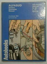 Alfasud Owners Workshop Manual by Autobooks