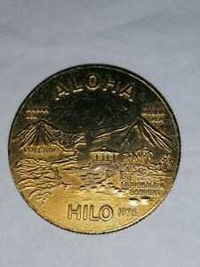 Hilo Dollar Hawaii The Big Isle 1975  Handelskammer Aloha Hilo