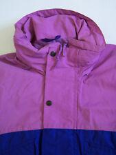Berghaus Quattro GTX Jacket Men's Small Medium Purple Blue Hooded Vtg BRG725 #