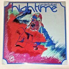 Lander Ballard (1977 Signed Vinyl LP Autographed Playtested LB7701) High Time