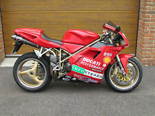 1999/T Ducati 996 Biposto with 13,000m in Red (916/998)
