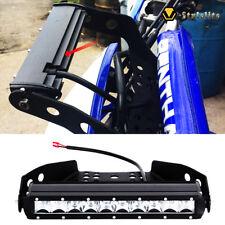"""10"""" Led Light Bar w/ Handlebar Mount Bracket Kit For ATV UTV Honda TRX 450r Z400"""