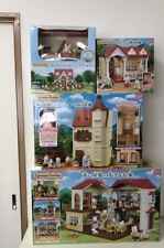Sylvanian Families BIG HOUSE WITH RED ROOF Complete Set japan anime animal doll