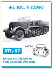 Friulmodel Metal Tracks for 1/35 German SdKfz.9 Famo (Early Type) (110 links)
