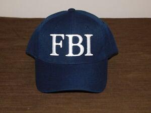 POLICE BASEBALL CAP HAT FBI NEW UNUSED