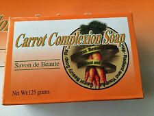 Carrot Complexion Bar Soap With Carrot Oil 125 Grams