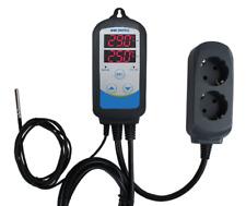 EU Plug ITC-310T-B Digital Temperature Controller Timer Heating Cooling homebrew