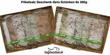 Pökelsalz Geschenkset Schinken 6x300g, im Geschenkkarton, Pökeln, Fleisch, Fisch