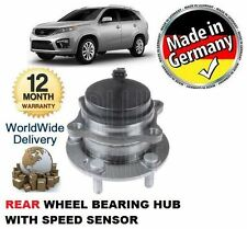 FOR KIA SORENTO 2.2 CRDi 2010-> REAR FWD WHEEL BEARING HUB KIT WITH SPEED SENSOR