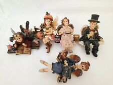 """Lot (5) Boyds Bears The Wee Folkstones Figurine- """"Electra"""" Angelbyte"""", Faerie"""