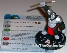 GORILLA CITY COMMANDER #209 The Flash Gravity Feed DC HeroClix