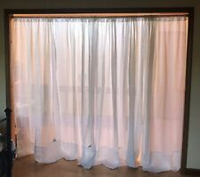 5 Pottery Barn Curtain Panels Flax Linen Panels Ivory Off White