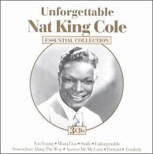 NAT KING COLE - UNFORGETTABLE [ESSENTIAL GOLD] (NEW CD)