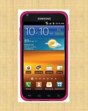 Amzer Silicone Skin Jelly Case for Samsung Epic 4G Touch - Dark PINK